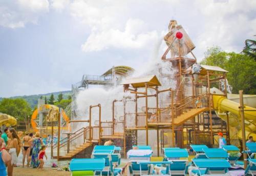 Аквапарк отеля Атлантида